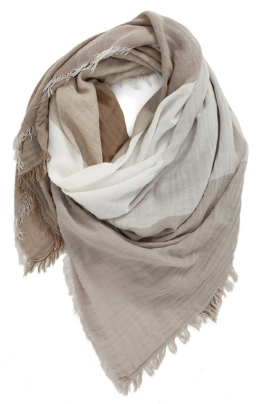 Nordstrom BP Check Woven Square Scarf
