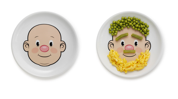 Food Face Plate