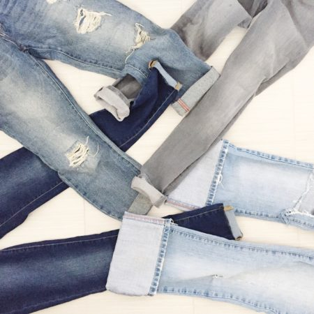 How to Roll Your Denim
