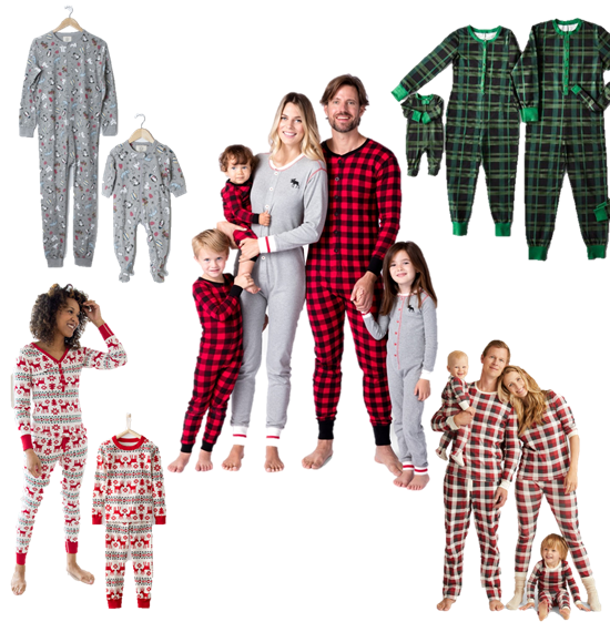 6a34fa21eedf The Best Matching Family Christmas Pajamas - The Shop Guide