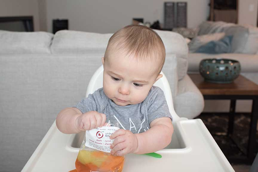 Lil Orchard Baby Foods & Local Laundry Collaboration