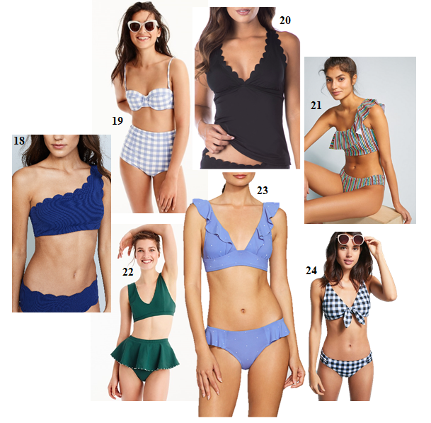 My Top Swimsuits for Summer - Bikinis