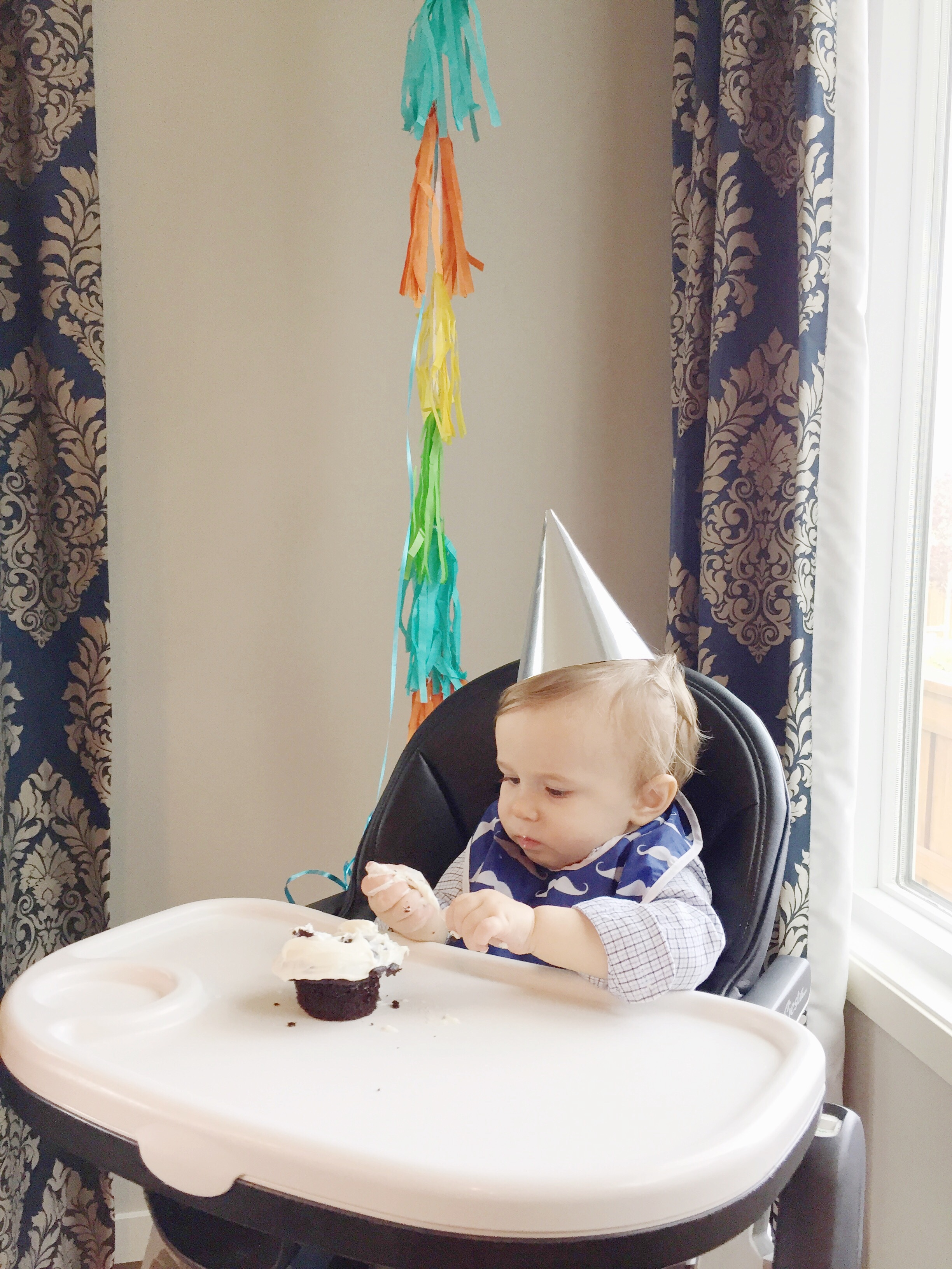baby boy's first birthday