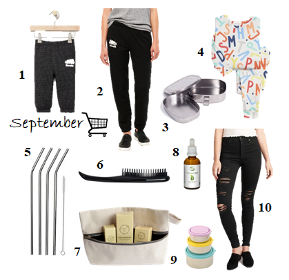 September Whats in my cart