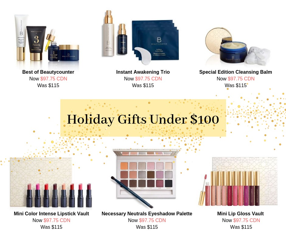 Beautycounter Gifts Under $100