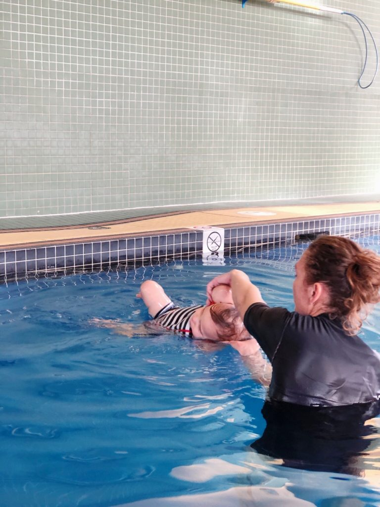 Swimming Lessons with Swim Kids Calgary