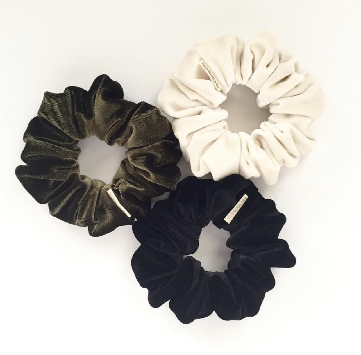 Wildroots & Co. Scrunchies