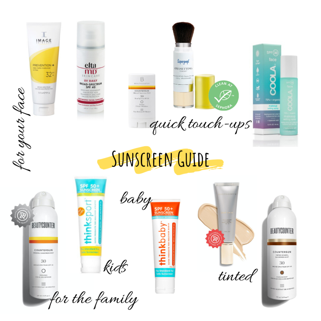 Your Clean Sunscreen Guide